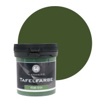 Tafelfarbe Probe Khaki Grün 80ml