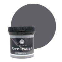 Tafelfarbe Probe Graphitgrau 80ml