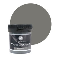 Tafelfarbe Probe Beton-Grau 80ml