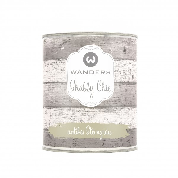 Shabby Chic antikes Steingrau 750ml