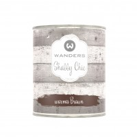 Shabby Chic warmes Braun 750ml