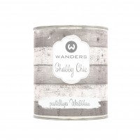 Shabby Chic pastelliges Weißblau 750ml