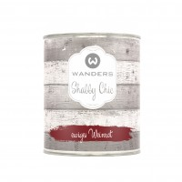 Shabby Chic ewiges Weinrot 750ml