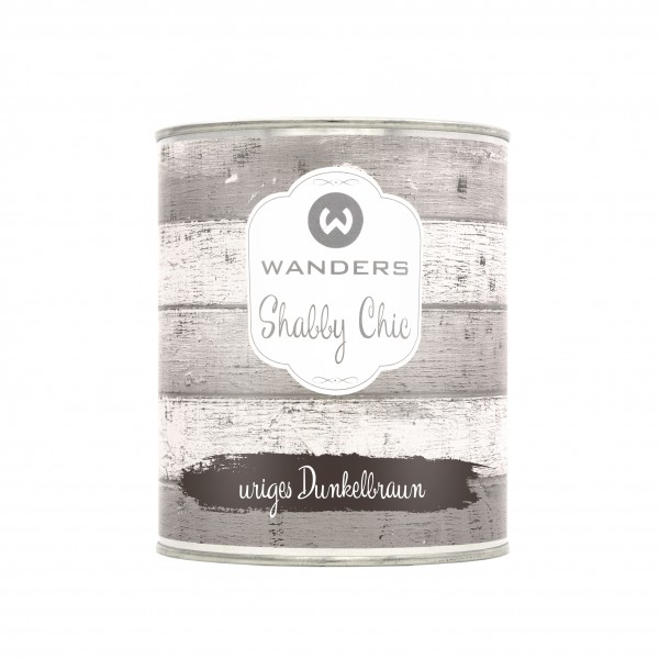 Shabby Chic uriges Dunkelbraun 750ml