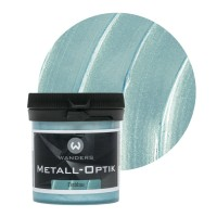 Metall-Optik Probe Eisblau