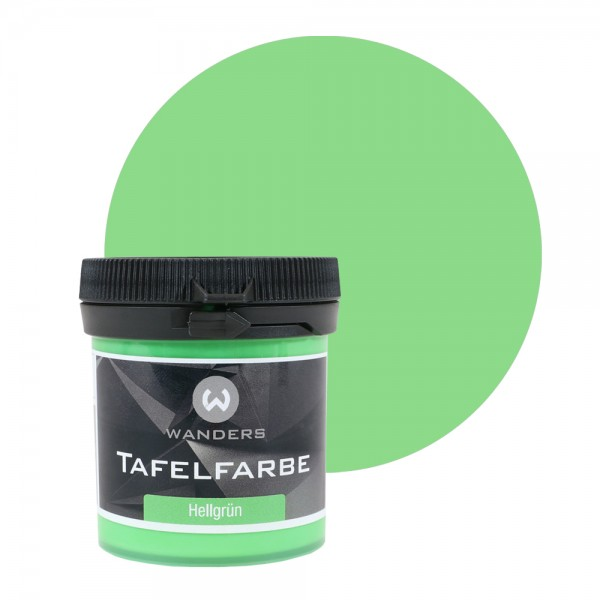 Tafelfarbe Probe Hellgrün 80ml
